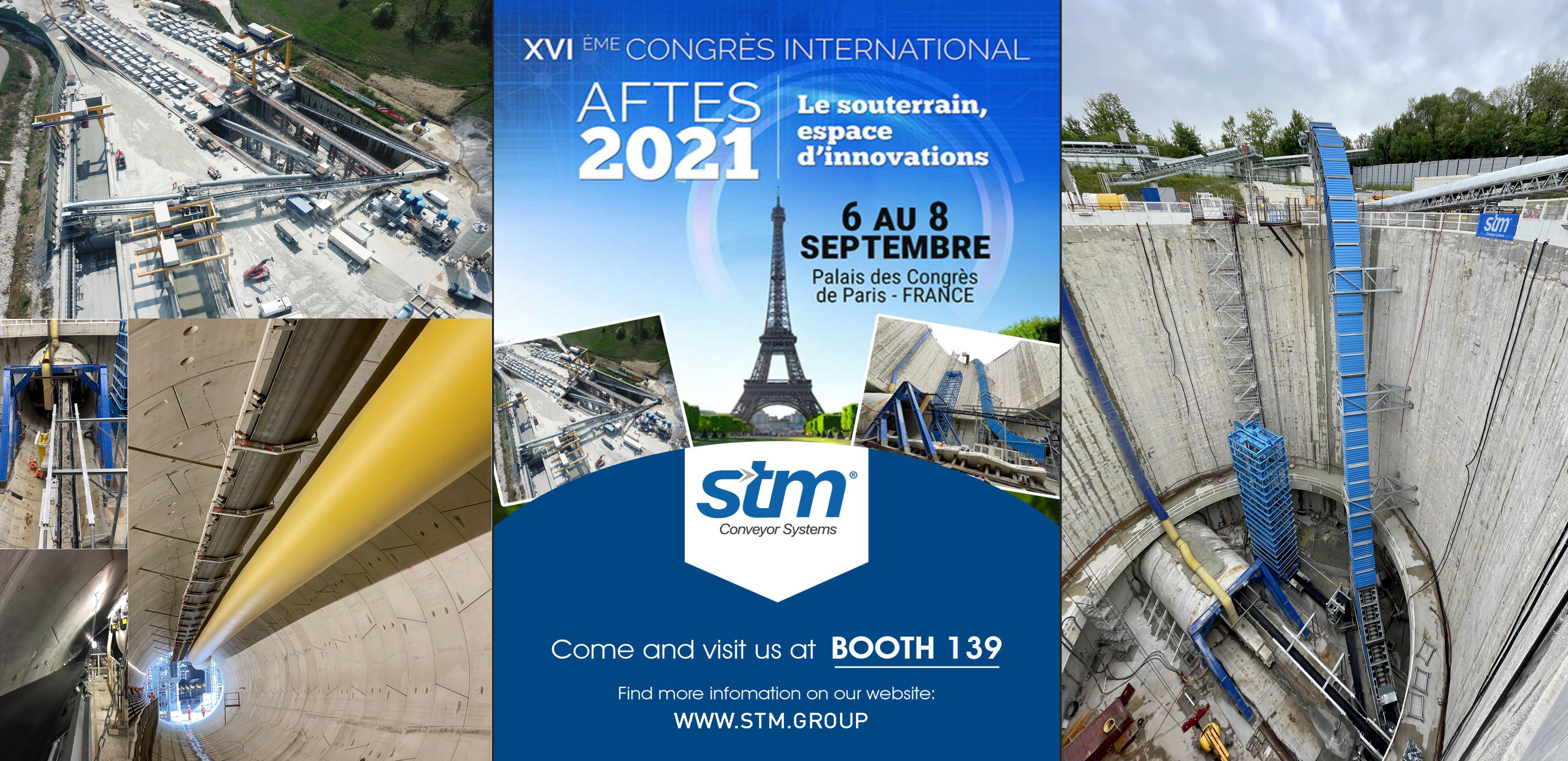 STM at AFTES 2021 in Paris!